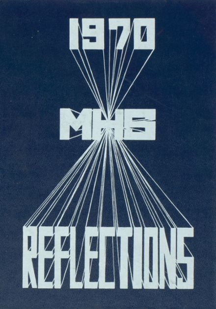 1970 Marycrest High School Yearbook Cover