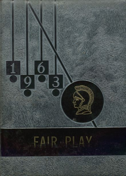 1963 Fair Play High School Yearbook Cover