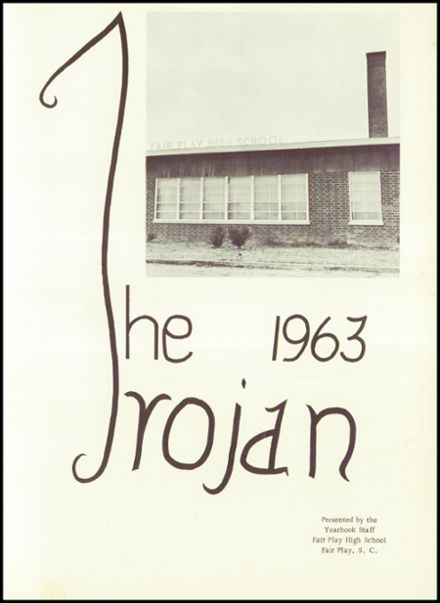 1963 Fair Play High School Yearbook Page 5