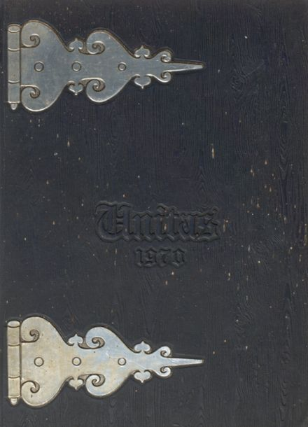 1970 United Local High School Yearbook Cover