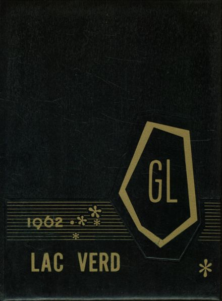 1962 Green Lake High School Yearbook Cover