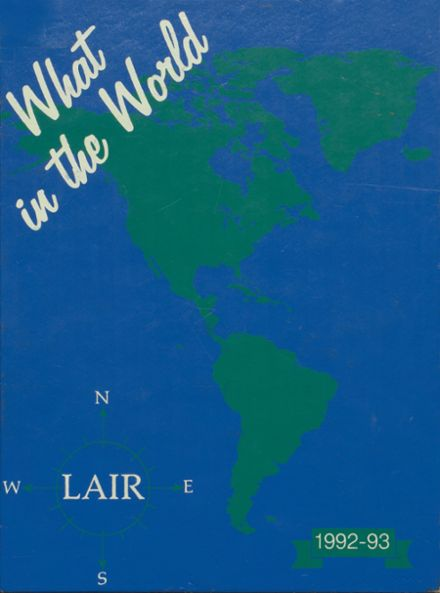 1993 Bartlesville Mid High School Yearbook Cover