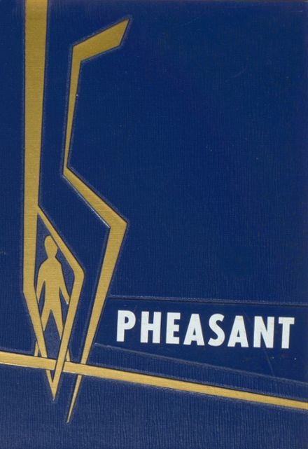 1965 Parker High School Yearbook Cover