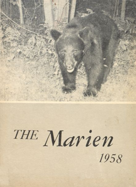 1958 East Forest High School Yearbook Cover