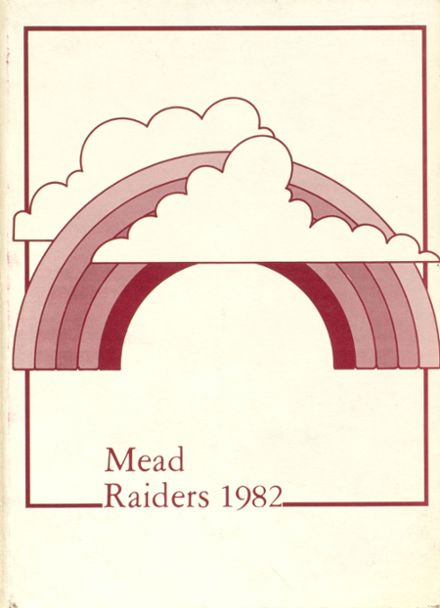 1982 Mead High School Yearbook Cover