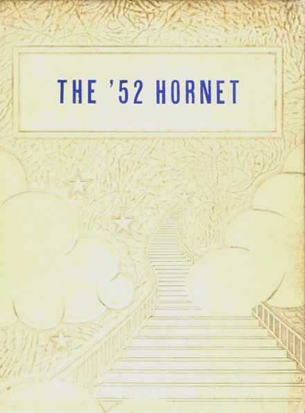 1952 Nashville Community High School Yearbook Cover