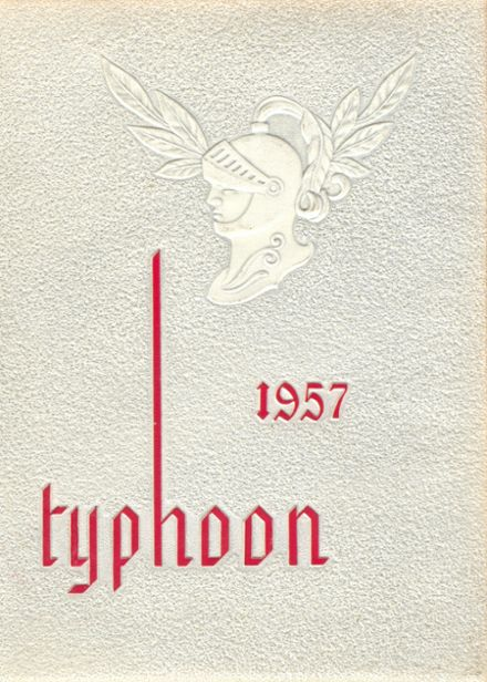1957 Milford Academy Yearbook Cover