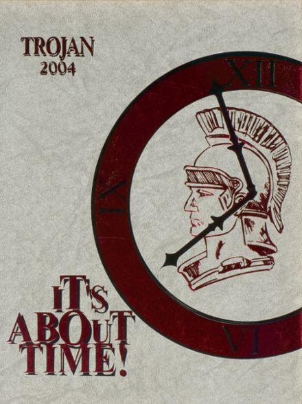 2004 Troy High School Yearbook Cover