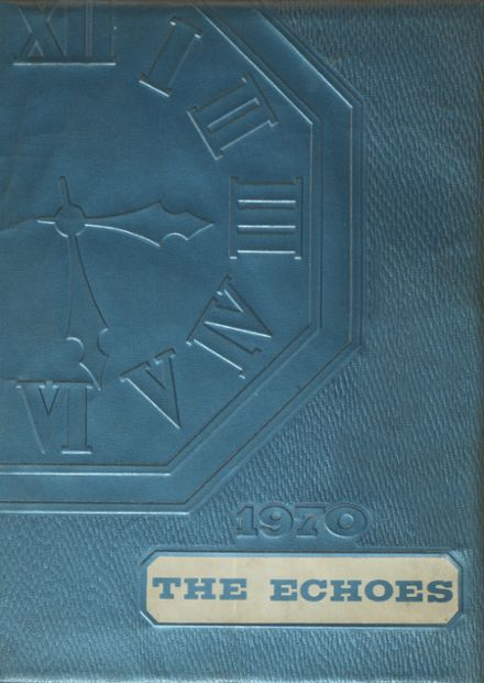 1970 Port Gibson High School Yearbook Cover