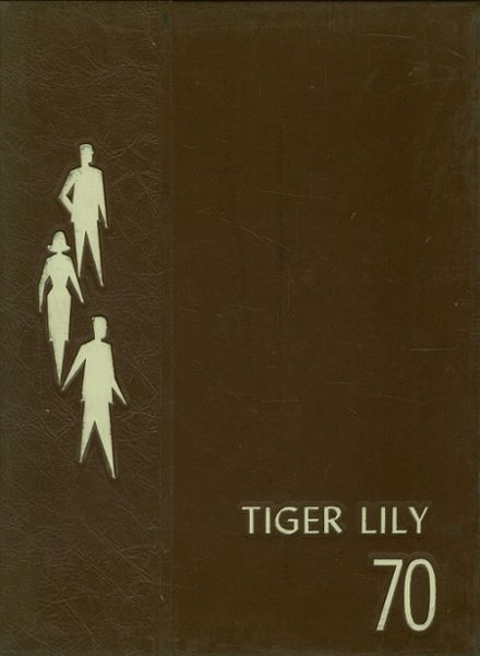 1970 Port Allegany High School Yearbook Cover