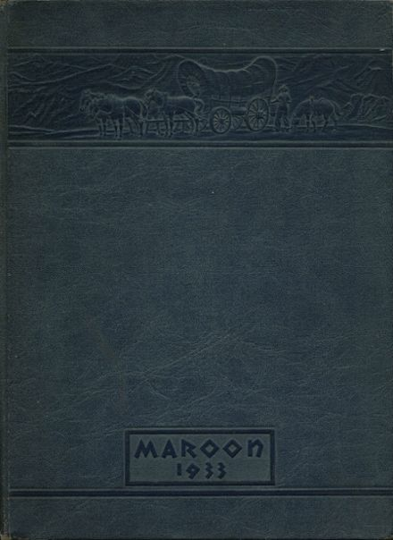 1933 Champaign High School Yearbook Cover