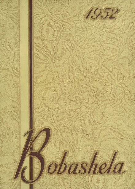 1952 Trenton Central High School Yearbook Cover