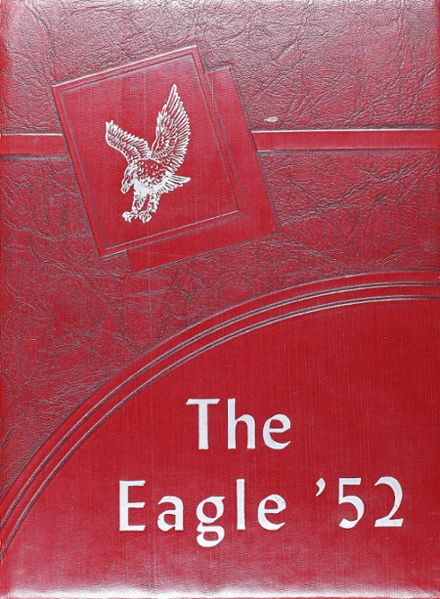 1952 Holliday High School Yearbook Cover