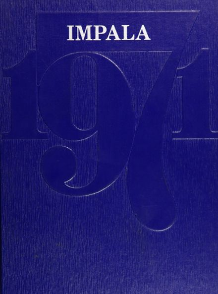 1971 Poudre High School Yearbook Cover