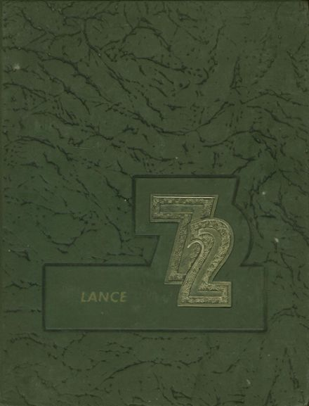 1972 Knoch High School Yearbook Cover
