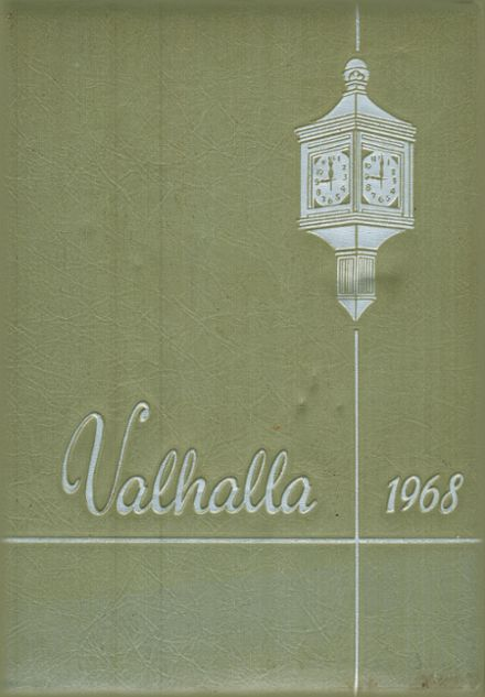 1968 Airline High School Yearbook Cover