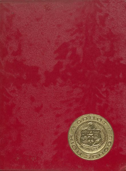 1971 Cabot High School Yearbook Cover