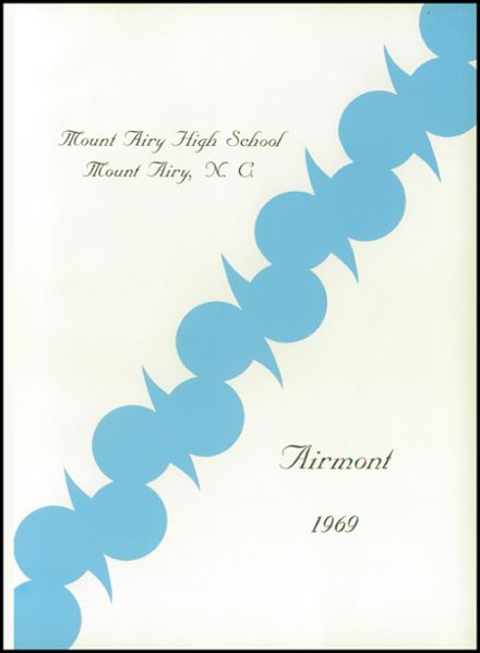 1969 Mt. Airy High School Yearbook Page 5