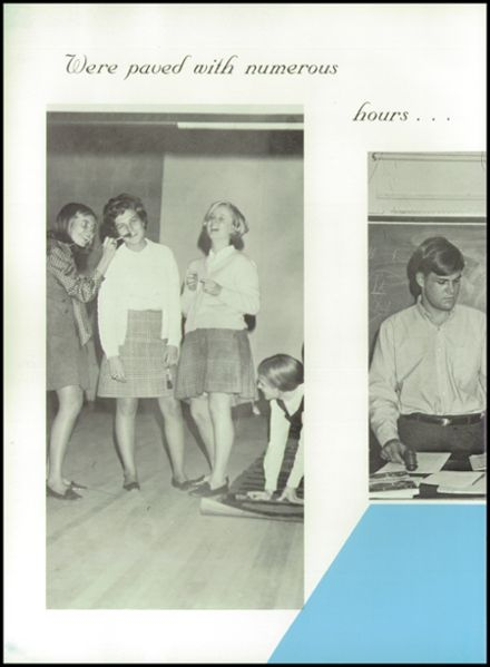 1969 Mt. Airy High School Yearbook Page 8