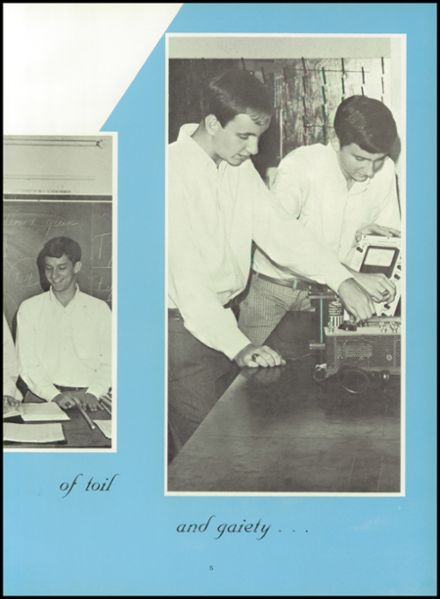 1969 Mt. Airy High School Yearbook Page 9
