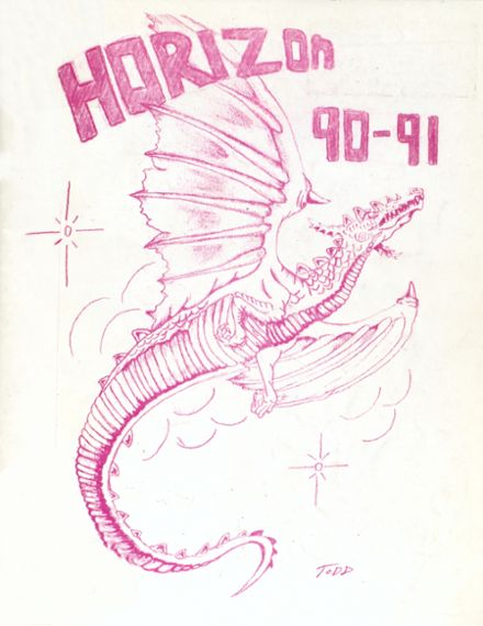 1991 Alternative Education High School Yearbook Cover