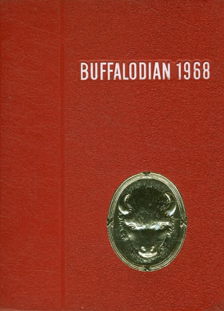 1968 New Buffalo High School Yearbook Cover