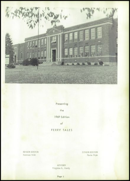 1969 Harpers Ferry High School Yearbook Page 7