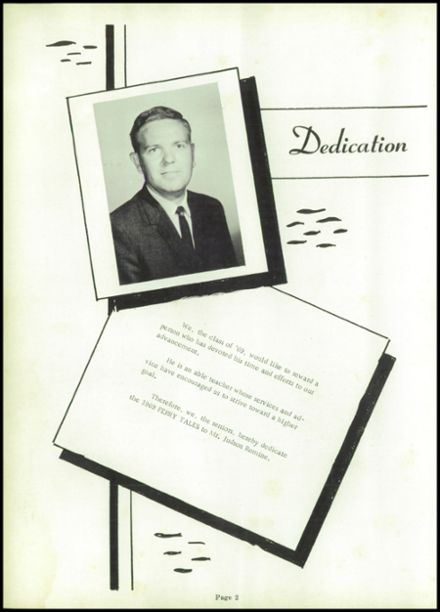 1969 Harpers Ferry High School Yearbook Page 8