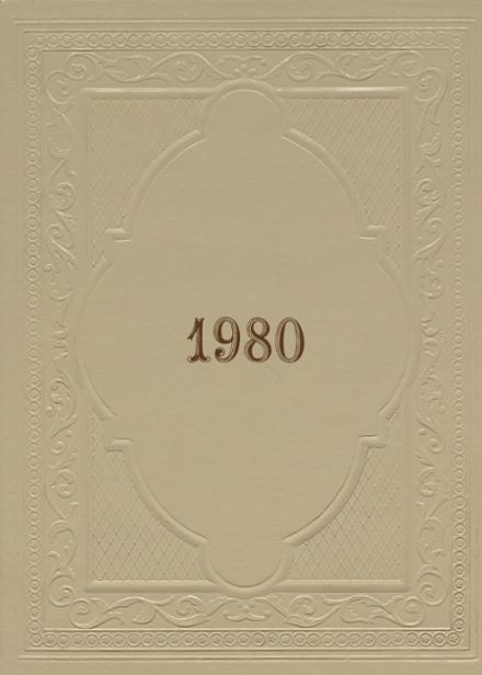 1980 Idabel High School Yearbook Cover
