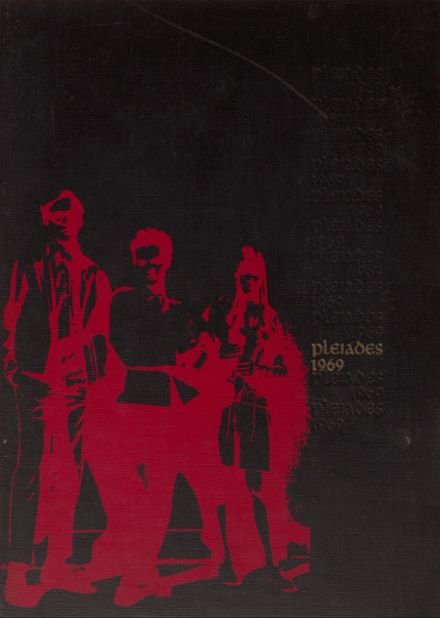 1969 Fullerton Union High School Yearbook Cover