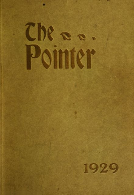 1929 Point Loma High School Yearbook Cover