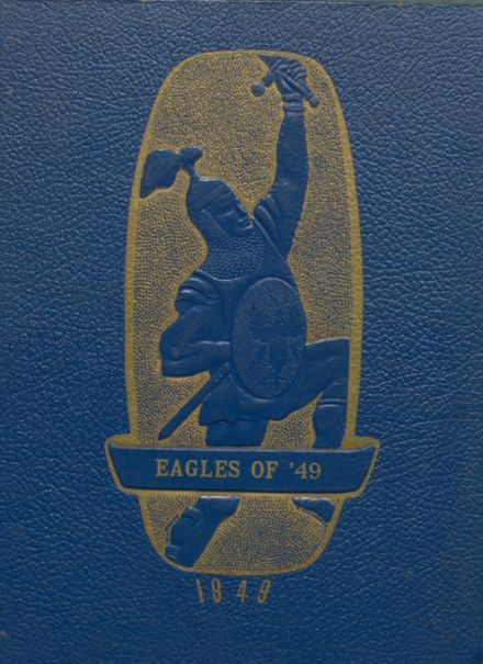 1949 Ashland High School Yearbook Page 1
