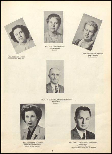 1949 Ashland High School Yearbook Page 9