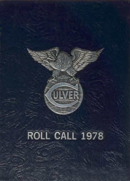 1978 Culver Military Academy Yearbook Cover