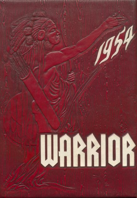 1954 Oaks-Mission High School Yearbook Cover