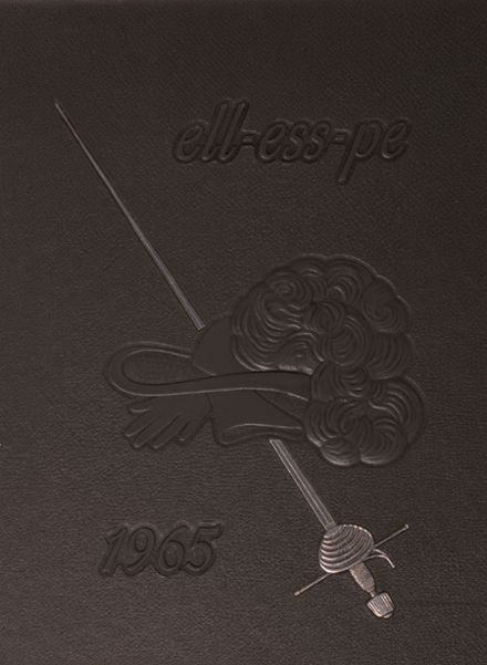 1965 La Salle-Peru Township High School Yearbook Cover