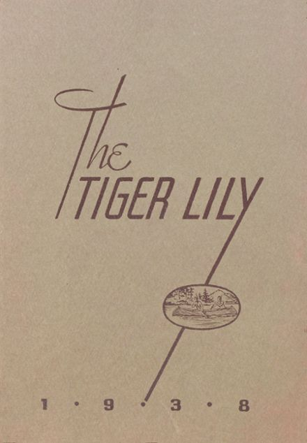 1938 Port Allegany High School Yearbook Cover