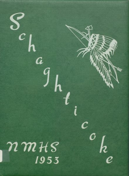1953 New Milford High School Yearbook Cover