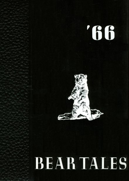 1966 Dolores High School Yearbook Cover