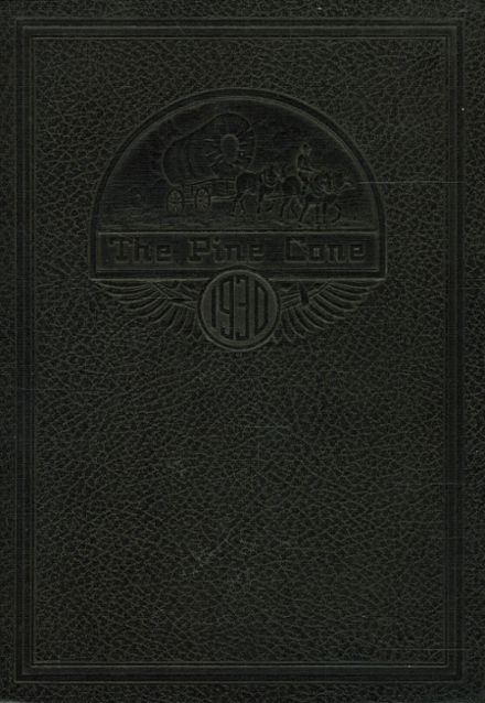 1930 Rapid City Central High School Yearbook Cover