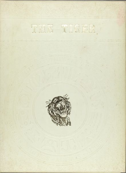 1970 Elida High School Yearbook Cover