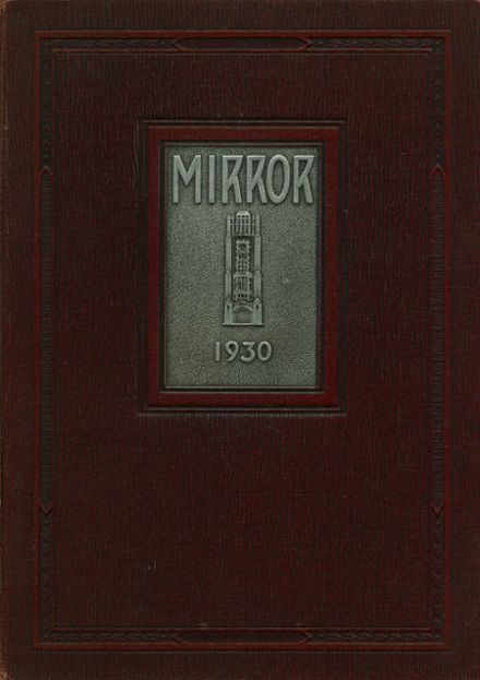 1930 Columbia High School Yearbook Cover