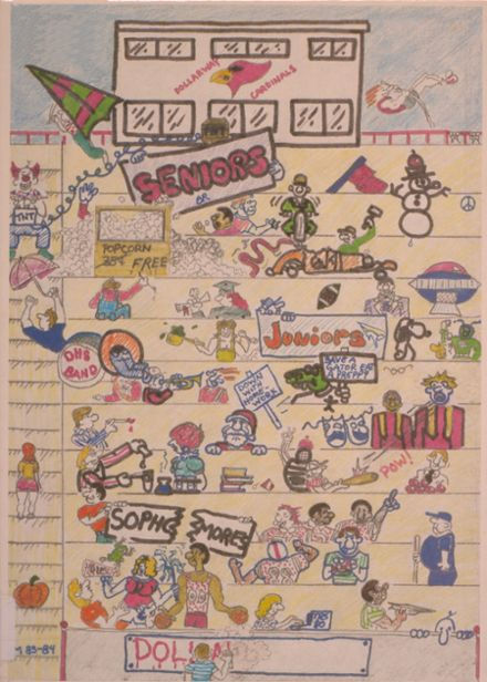 1984 Dollarway High School Yearbook Cover