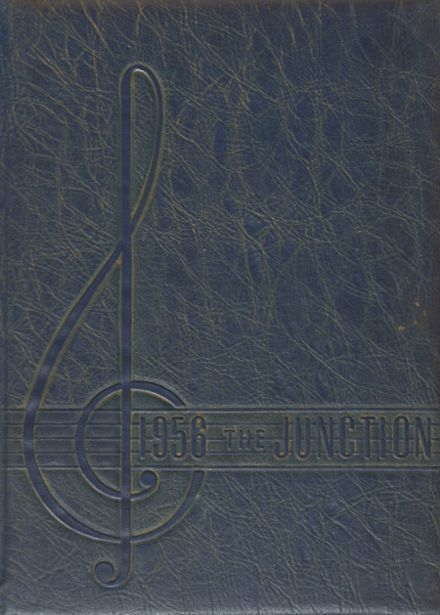 1956 Gretna High School Yearbook Cover
