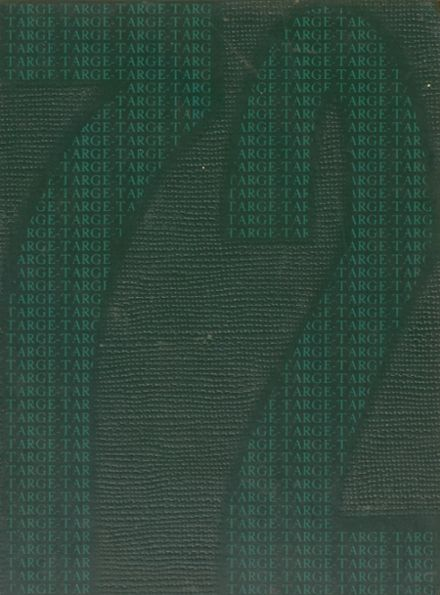 1972 Incline High School Yearbook Cover