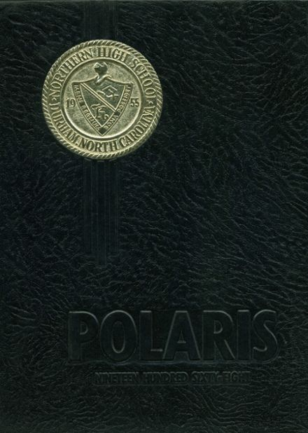 1968 Northern High School Yearbook Cover