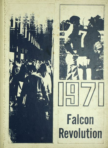1971 Whitnall High School Yearbook Cover