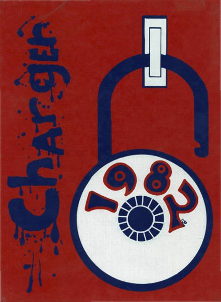 1982 Crowley County High School Yearbook Cover