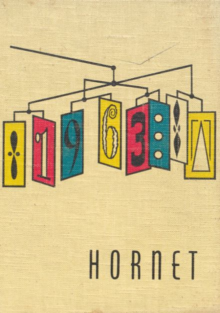 1963 Richland Center High School Yearbook Cover