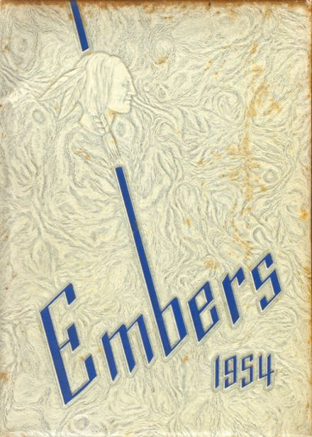 1954 Wayne Township High School Yearbook Cover